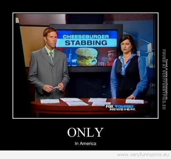 Funny Picture - Only in America