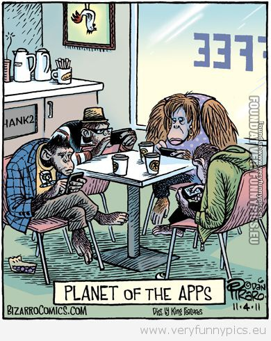 Funny Picture - Planet of the apps