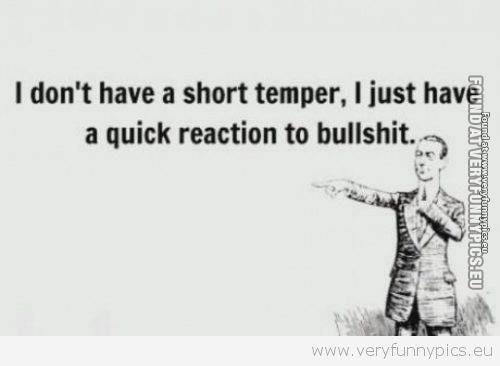 Quick reaction