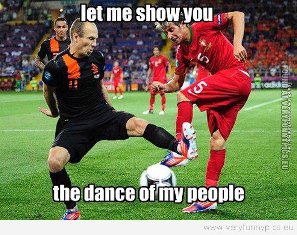 Soccer dance