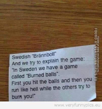 You should probably be from Sweden to get this…