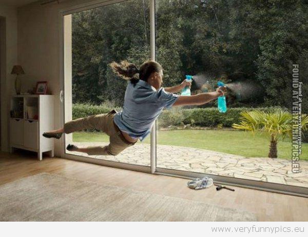 Windowcleaning for men