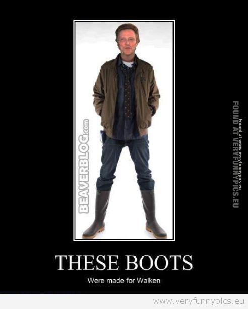 Funny Pictures - These boots