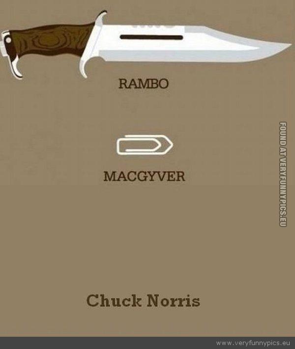 Rambo, McG and Chuck