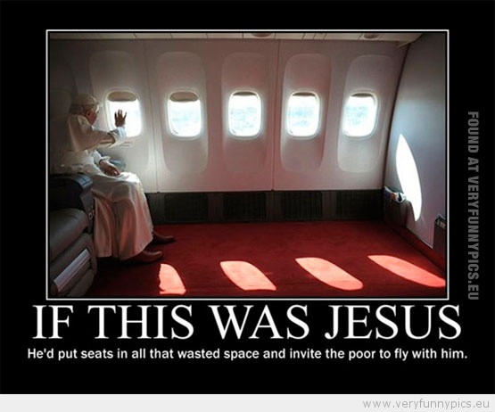 Funny Jesus Quotes Stunning The Pope VS Jesus Very Funny Pics