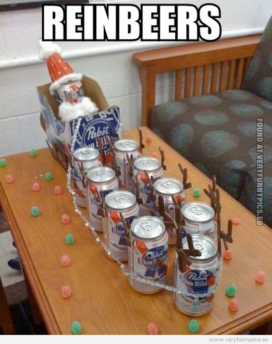 Funny Picture - Reinbeers