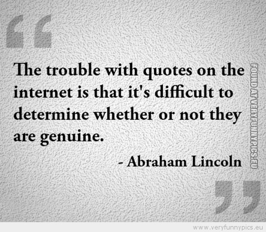 wise words from abe very funny pics