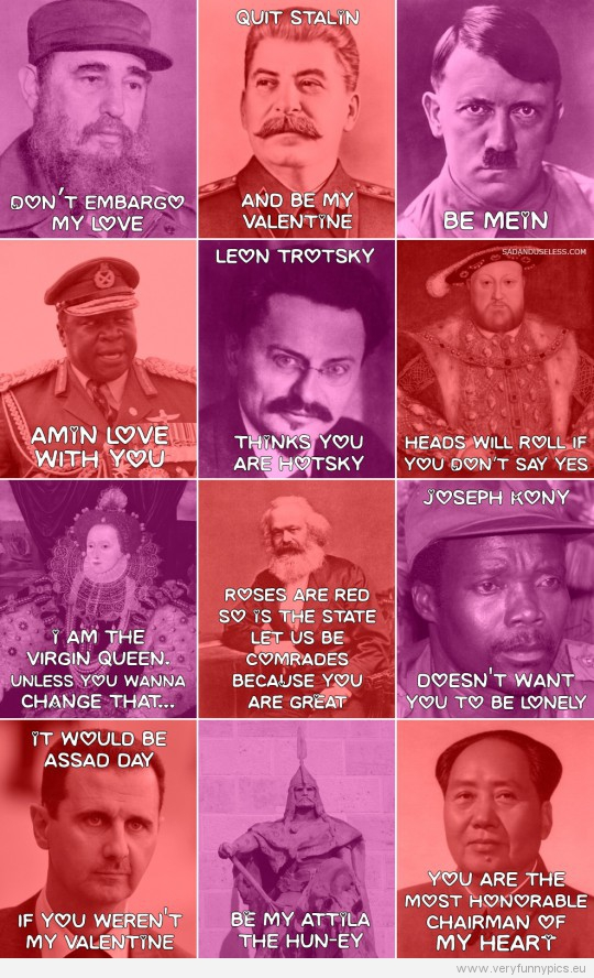 Valentine S Day Cards From History Very Funny Pics
