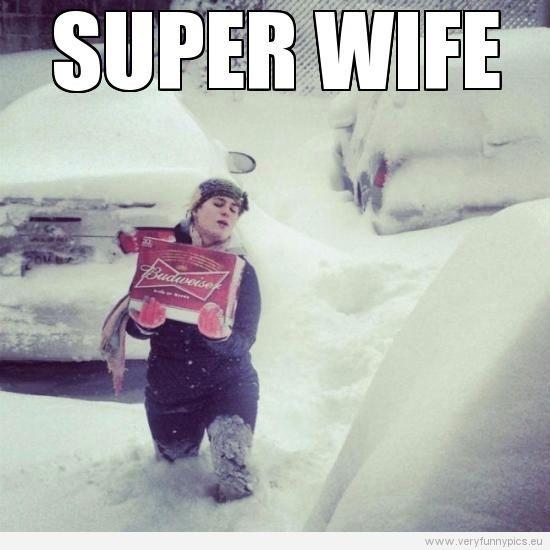 She\'s my new hero | Very Funny Pics