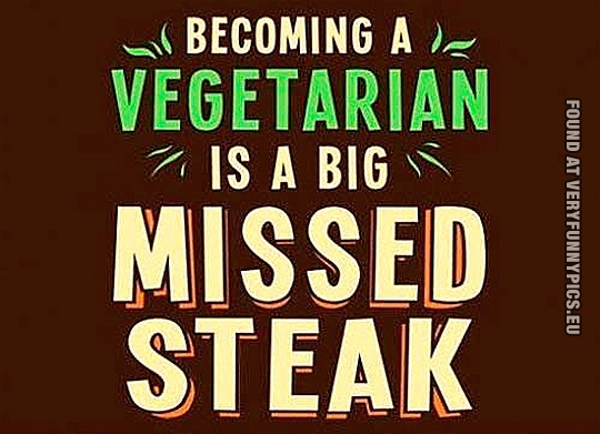 A Missed Steak Very Funny Pics