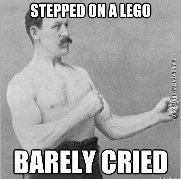 Overly manly man #3 (14 pictures)