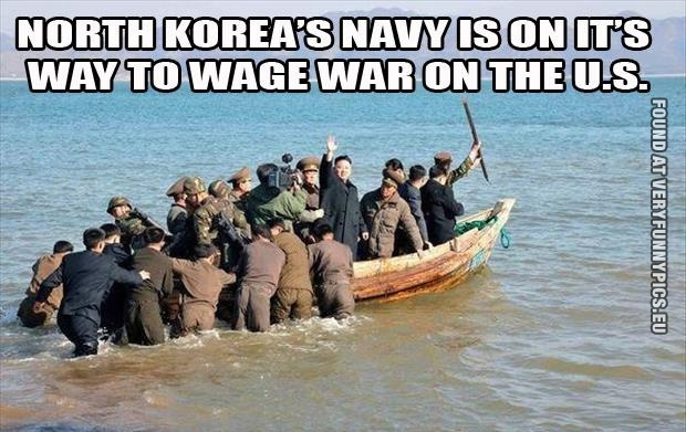 North Korea's on it's way