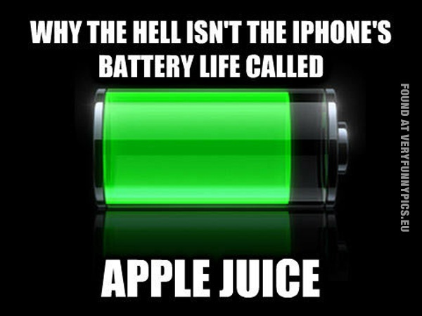 The best name for iPhone's battery life