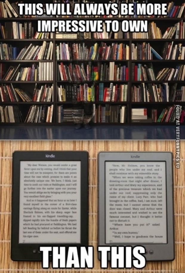 funny picture books vs kindle