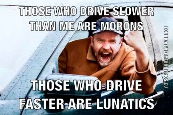 How road rage works