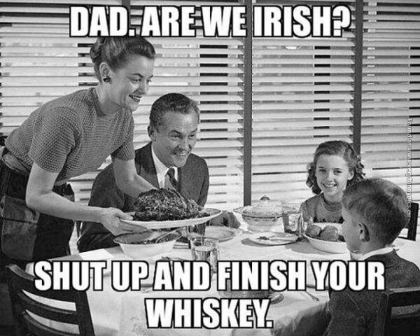 funny pics dad are we irish