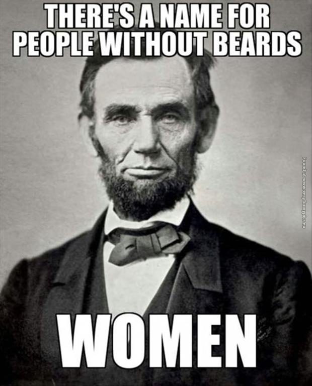 People without beards
