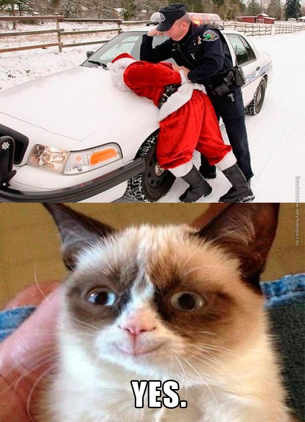 Santa gets arrested
