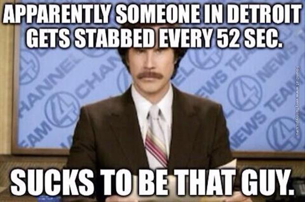 Detroit is a violent city