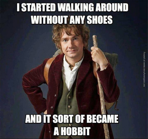 Bilbo is being clever