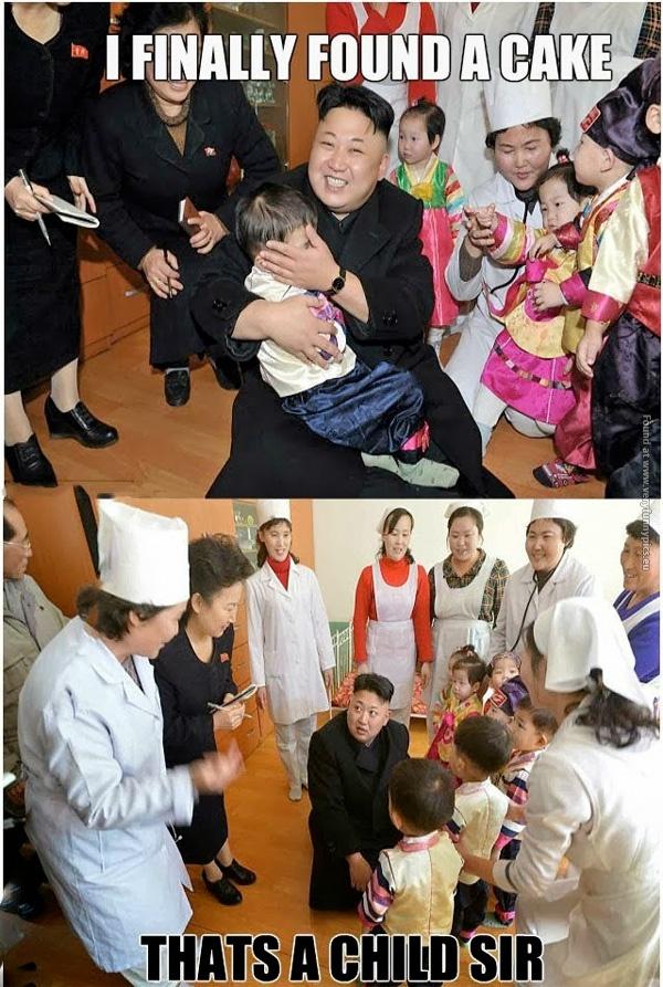 Kim Jong Un found his cake