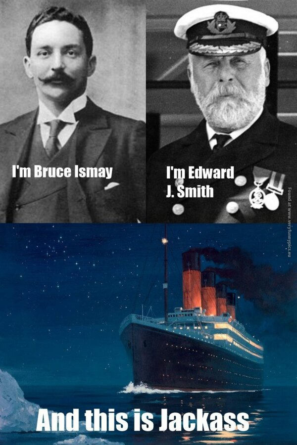 The reasons why Titanic went down | Very Funny Pics