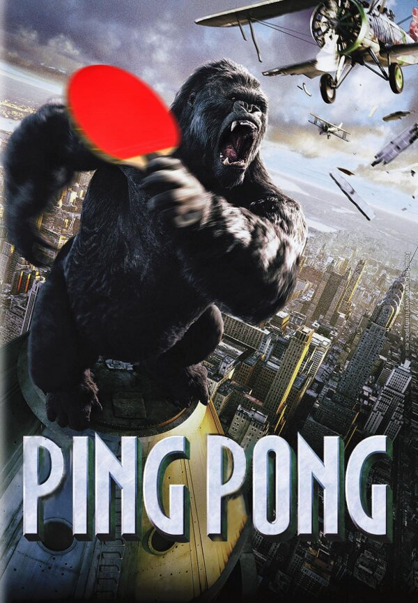 Ping Pong movie poster Very Funny Pics