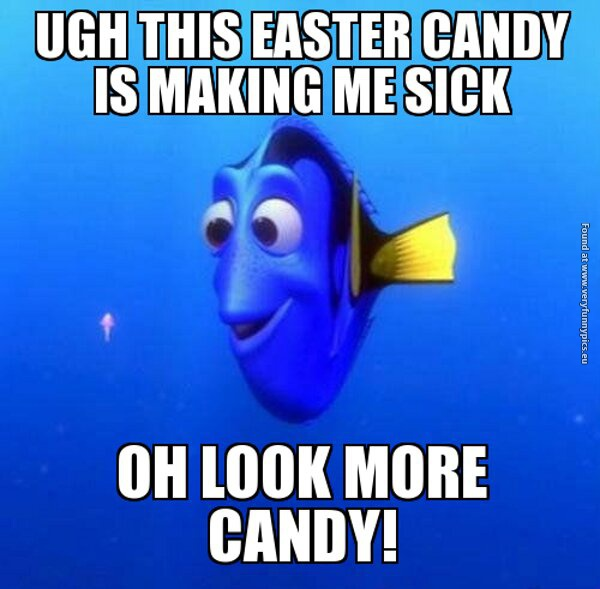 Easter candy is making me sick