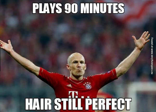 The perfect hairstyle for soccer