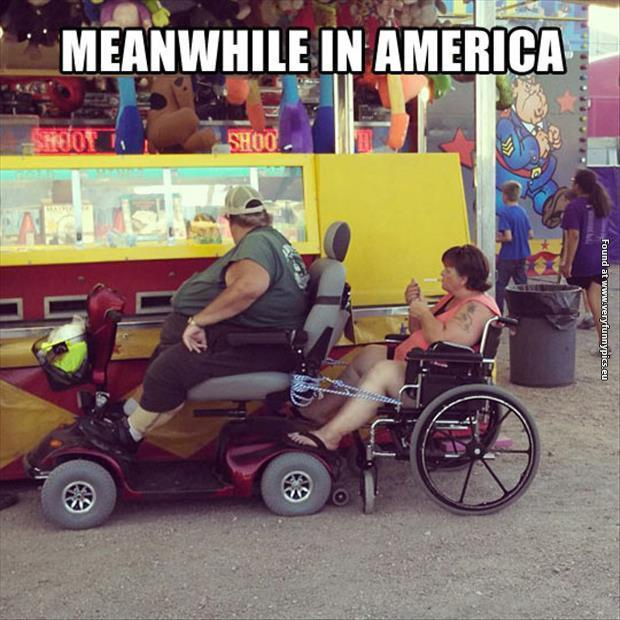 Meanwhile in America…
