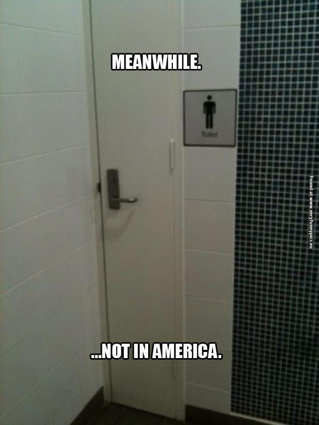 Not in America…
