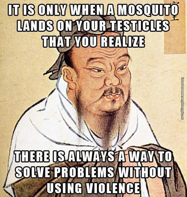 You can solve problems without violence