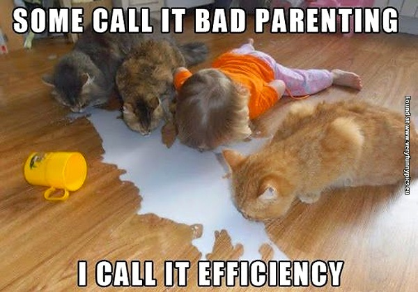 I call it efficiency