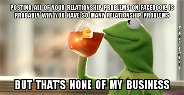 Kermit about social media wining