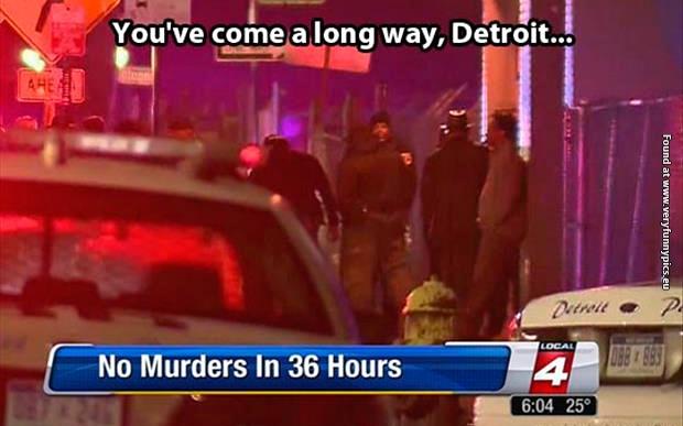 Yeah! You go, Detroit!