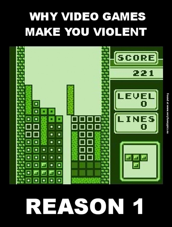 Video game violence starts here