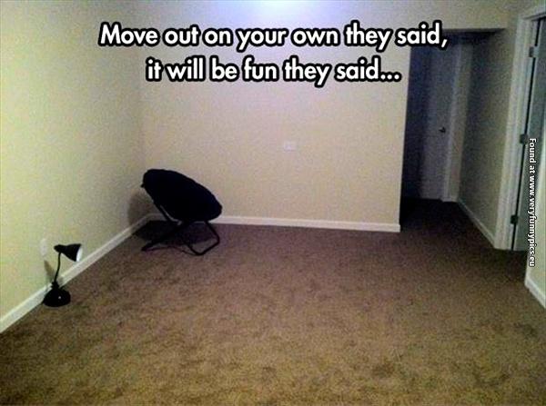 The sadest apartment ever