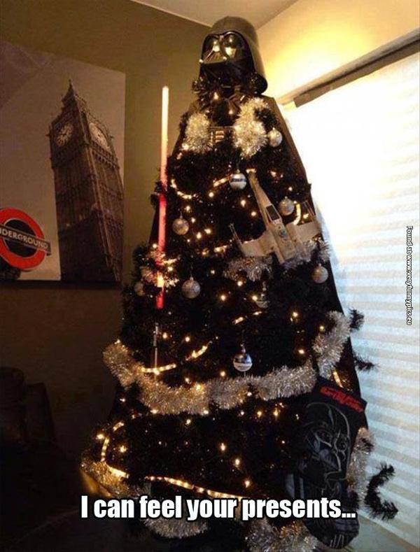 Darth Vader Christmas Tree Very Funny Pics