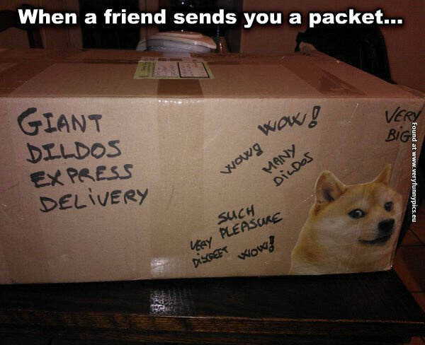 Why i hate getting packages from my friends