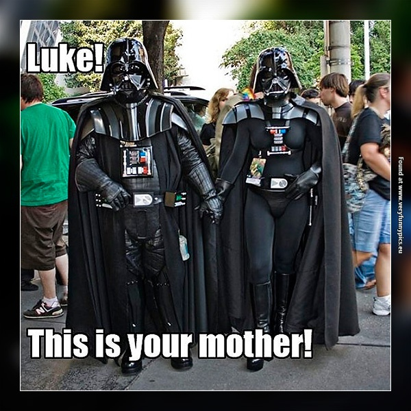 Darth got another surprise for Luke