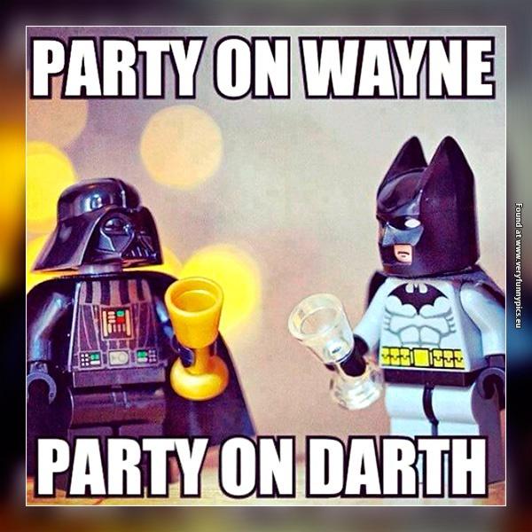 Waynes world is meeting Star Wars