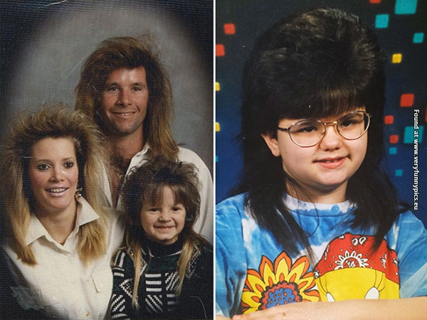 Why did mullets ever go out of fashion? (27 pictures)