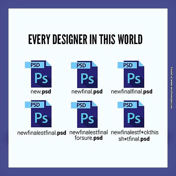 Designer problems…