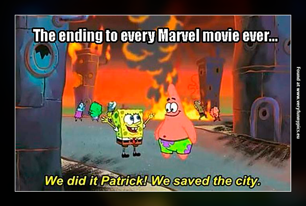How every Marvel movie ends