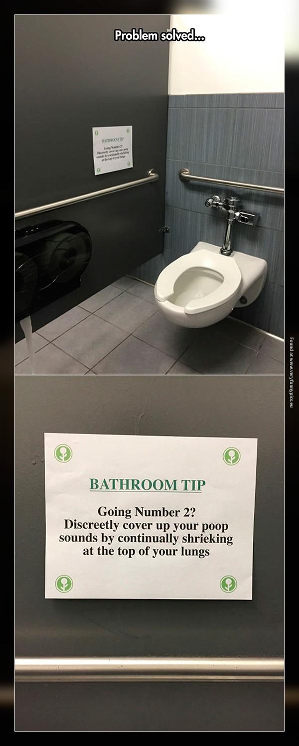 Bathroom life hack