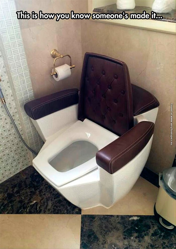 The perfect toilet