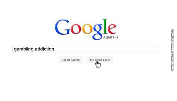 That Google button for gambling addicts