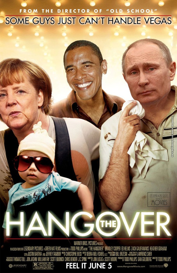 If Merkel, Obama and Putin starred in movies (17 pictures)