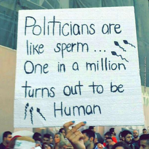 The truth about politicians