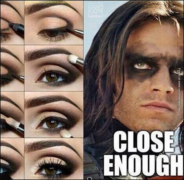 When you just don't have time for that perfect makeup